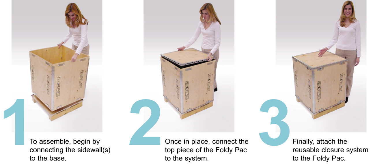 foldy pac step by step instructions