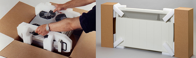 domestic appliance packaging