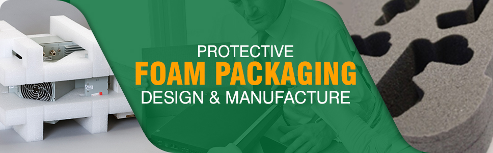 Protective foam packaging design and manufacture