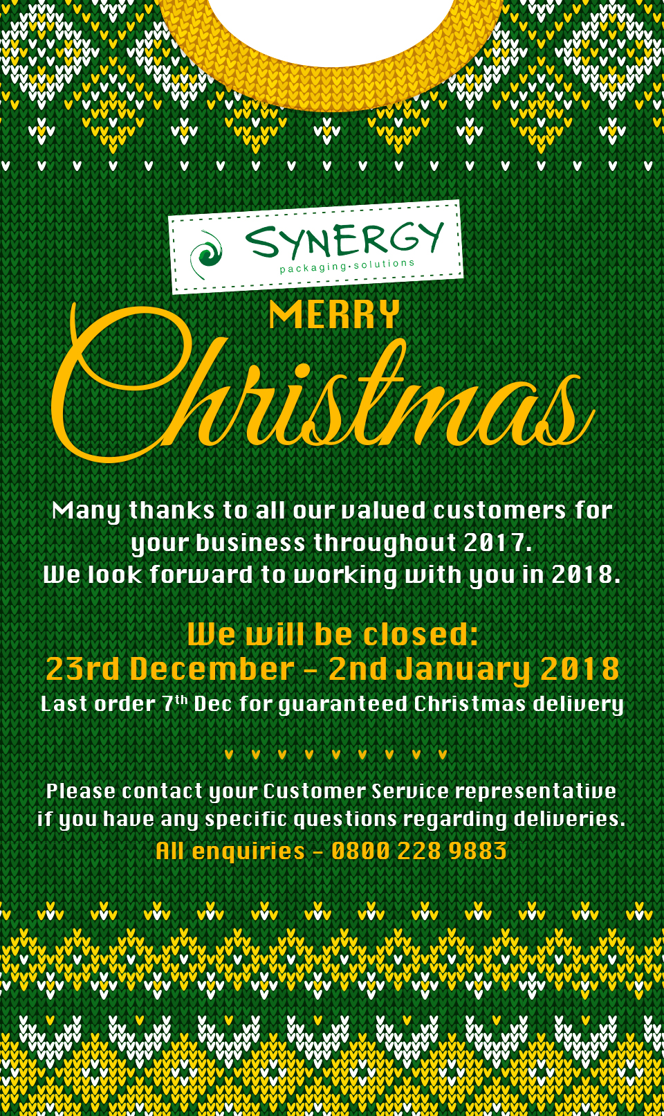 Merry Christmas from Synergy