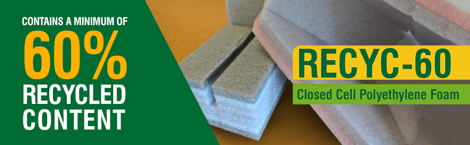 recycled Closed Cell Polyethylene Foam